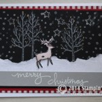 CARD: White Christmas is here – I've been dreaming about it!