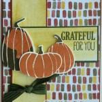 """CARD: Fall Fest """"Grateful"""" Pumpkins"""