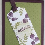CARD: For All Things – Fall Card