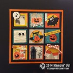 PROJECT: Awesome Halloween Frame-able Sampler