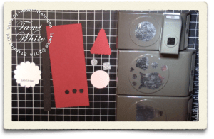 stampin up santa-tizer pieces