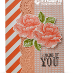 CARD: Stippled Blossoms Sympathy