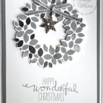 VIDEO: Embossed Wondrous Wreath Christmas Card