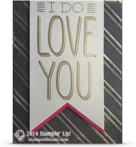 stampin up big on you