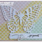 SNEAK PEEK: Hello Life Butterfly Wow Card