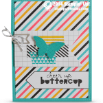 CARD: Cheer Up Buttercup Butterfly