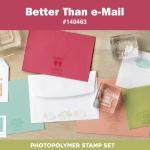 New Photopolymer Set: Better Than e-Mail