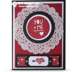 CARD: You Plus Me Valentines Day