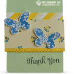 CARD: Butterfly Basics Thank You