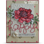 CARD: Bloom with Hope – Happy Mothers Day