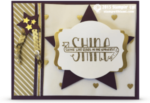 stampin up banner blessings - cheryl flynn