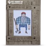 CARD: Wood You Be Mine Lumberjack Card