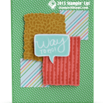 CARD: Way to Go – I Think You're Great