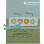 CARD: Sprinkles on Top Donut Birthday