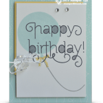 CARD: Happy Birthday Balloon