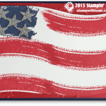 VIDEO: Work of Art – American Flag Card