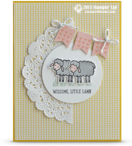 stampni up barnyard basics stamp set card