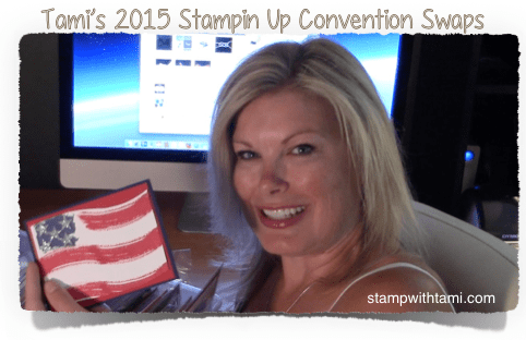 tamis stampin up convention swaps