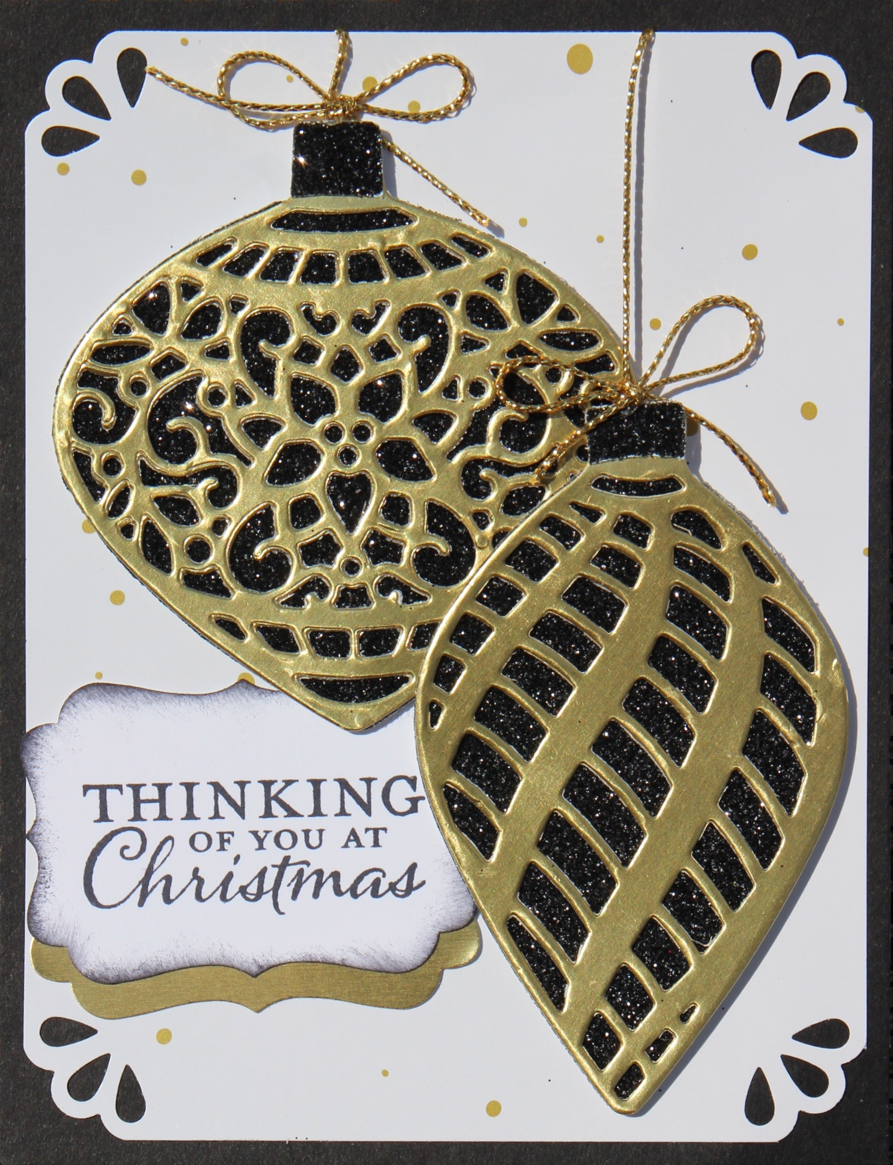 VIDEO: Delicate Ornament Glimmer Christmas Wow Card ...