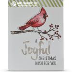 CARD: Joyful Season Christmas Cardinal