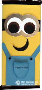 stampin up minions candy bar-stampwithtami