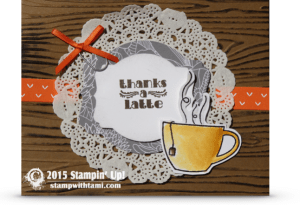 stampin up paper pumpkin thanks a latte