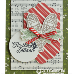 CARD: 'Tis the Season Winter Wishes Holiday Card