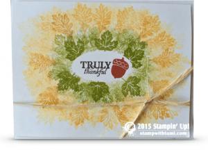 2015-09 stampin Up paper pumpkin alternate project