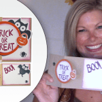 "VIDEO: How to make a ""Z Fold"" Halloween Card"