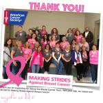 NEWS: Breast Cancer Fundraiser Update & Winners Announced