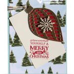 CARD: Cozy Christmas Ornament Card