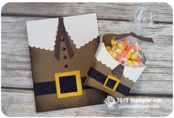 stampin up thanksgiving pilgrim gift set