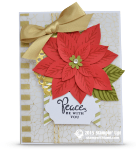stampin up reason of season card
