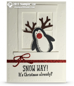 stampin up snowplace - joszette