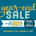 SALE: 60% OFF Stampin Up Year End Blow Out