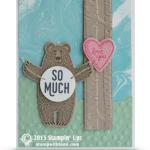 SNEAK PEEK: Bear Hugs Love You So Much Valentines Card