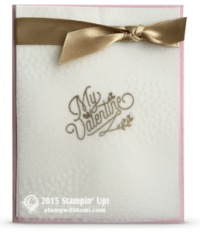 stampin up bloomin love