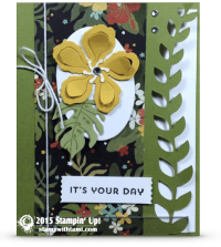 stampin up botanical gardens stamp set