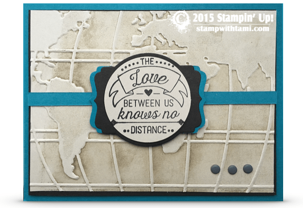 stampin up going global love