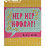 CARD: Hip-Hip Hooray – Party with Cake