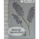 CARD: Much Appreciated – Helping Me Grow Card