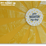 CARD: Sunburst Sayings Wow Sunshine Card