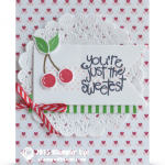 CARD: You're the Sweetest Cherries from the Apple of My Eye