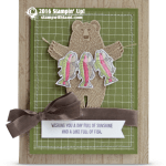 CARD: Bear Hugs Lake Full of Fish fun & winner announcement