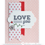 CARD: Friendly Wishes Love You & Winner Announcement