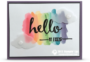 stampinup hello sale a bration stamp set