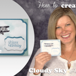 VIDEO: How to make a Masked Cloudy Sky Background