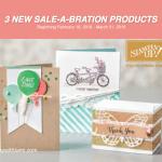 SNEAK PEEK: 3 New Sale-a-bration Products & Video *Spoiler Alert*
