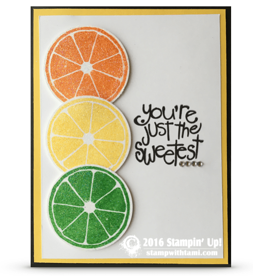 stampin Up apple of my eye stamp set