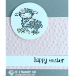 CARD: Mary had an Happy Easter Lamb